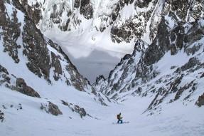 Heliski ski snowboard
